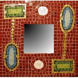 Specchio Teodora mosaico
