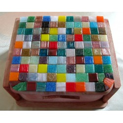 Scatola mosaico Arlecchino