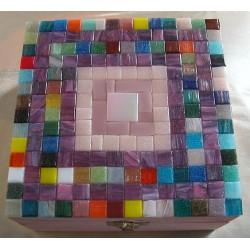 Scatola a mosaico grande...