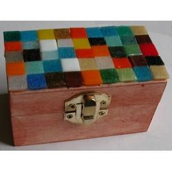 "Scatola a mosaico ""Arlecchino"""